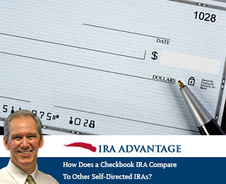 How Does A Checkbook IRA Compare To A Basic Self-Directed IRA?