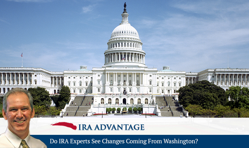 Do IRA Experts See Changes Coming From Washington