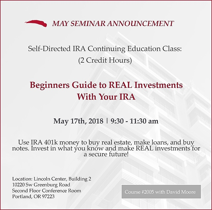 IRA Advantage May Class