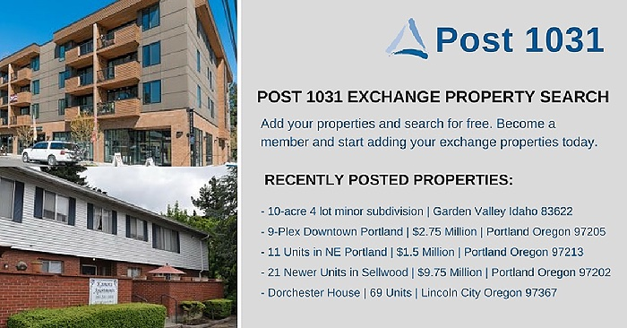 Post 1031 July Properties