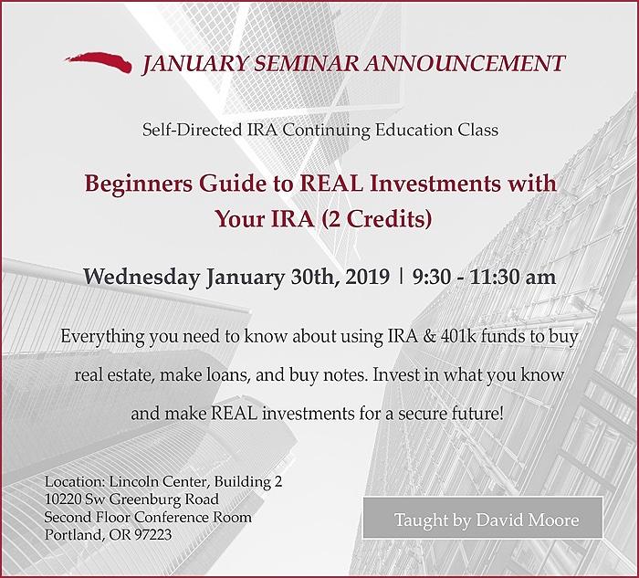 January 2019 Seminar