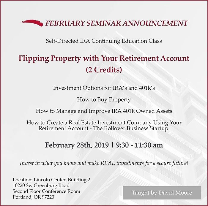 February Seminar 2019
