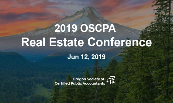 Join David Moore at the 2019 OSCRA Real Estate Conference