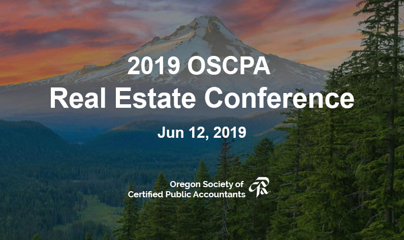 2019 OSCPA Real Estate Conference
