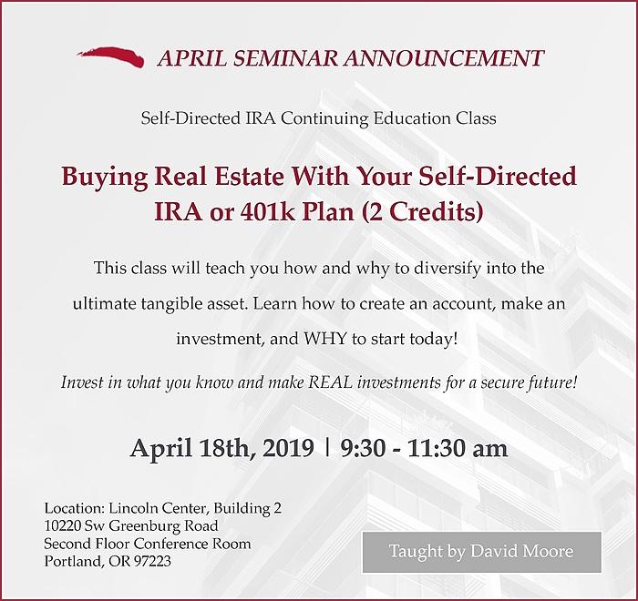 April Seminar