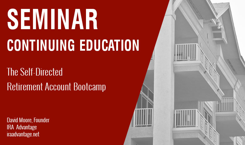 The Self-Directed Retirement Account Bootcamp