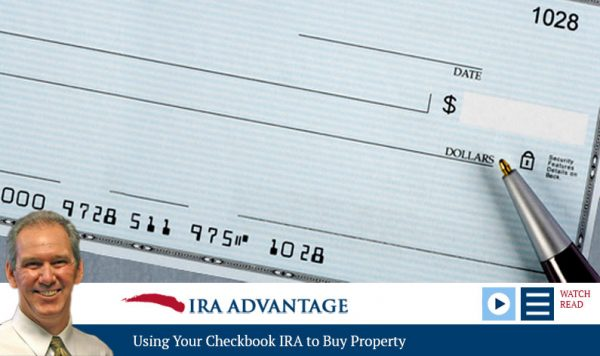 Using Your Checkbook IRA to Buy Property