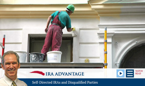 Self-Directed IRAs and Disqualified Parties