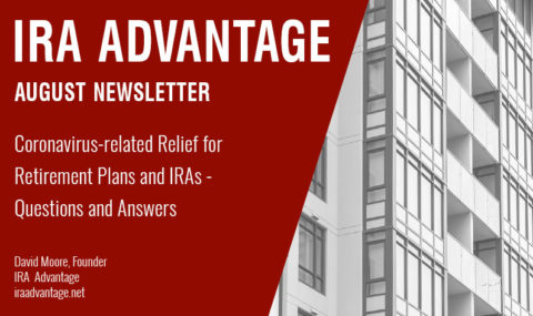 Coronavirus-related Relief for Retirement Plans and IRAs – Questions and Answers