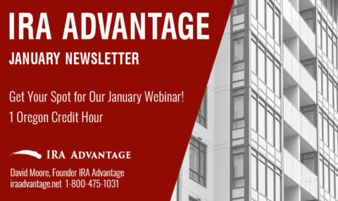 Get Your Spot for Our January Webinar! 1 Oregon Credit Hour