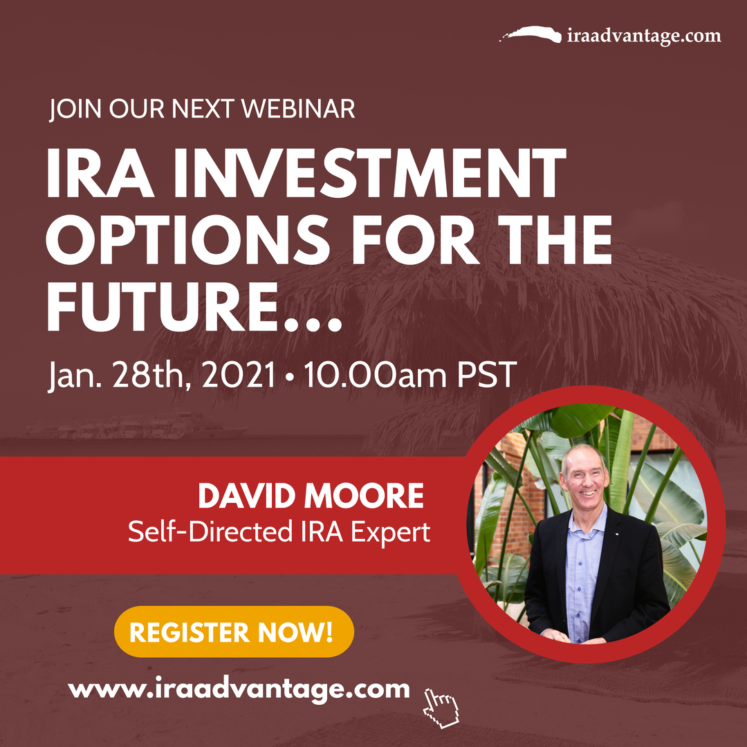IRA Investment Options for the Future - Why Be Stuck on Wall Street Flyer
