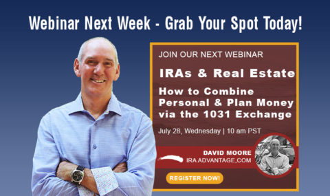 Grab Your Spot! IRAs & Real Estate – How to Combine Personal & Plan Money via the 1031 Exchange