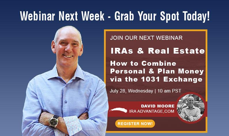 IRAs & Real Estate Reminder Flyer